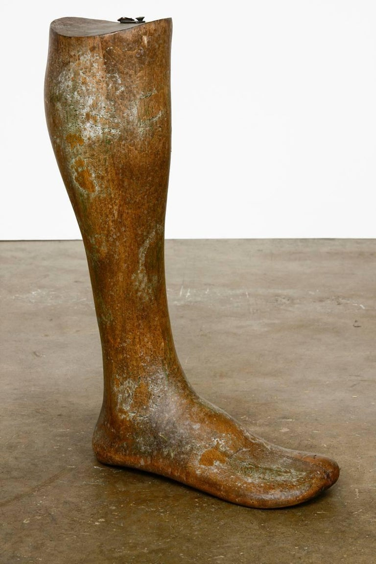 19th Century Wooden Riding Boot Molds or Forms In Good Condition For Sale In Oakland, CA