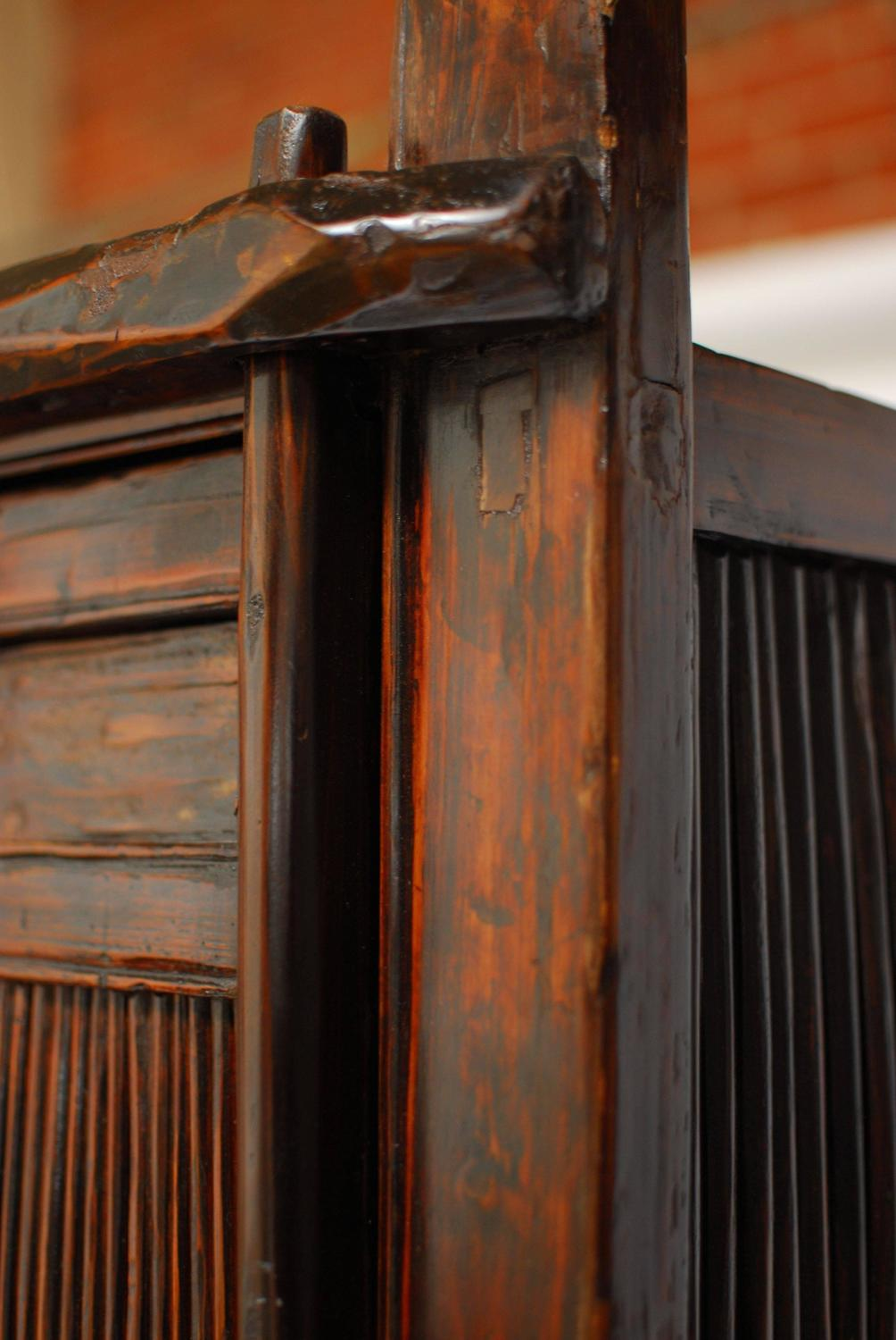 chinese bamboo kitchen cabinet for sale at 1stdibs authentic antique chinese kitchen cabinet for sale