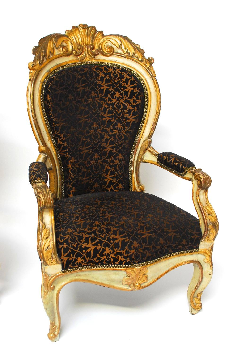 19th century louis xv fauteuils at 1stdibs