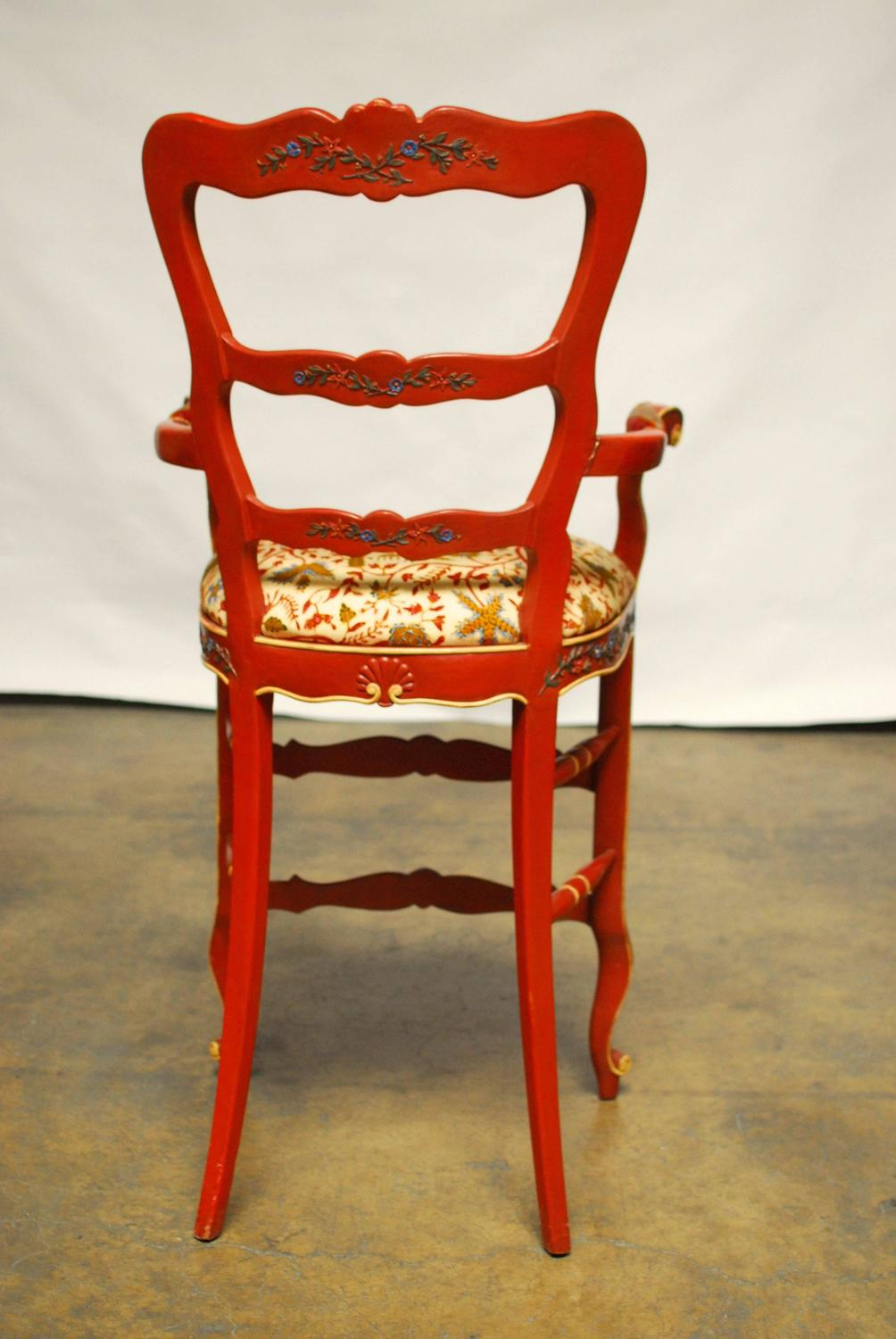Carved french country bar stools at stdibs