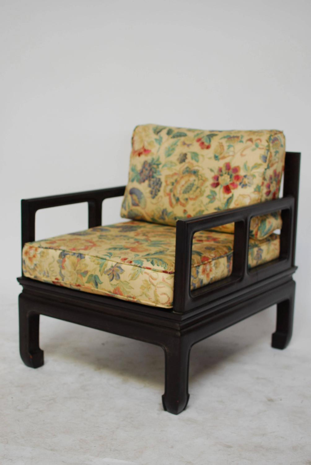 Chinese Rosewood Meditation Chair at 1stdibs