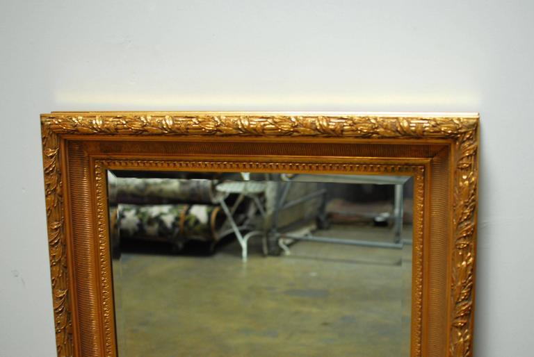 Hollywood Regency LaBarge Gilt Mirror For Sale