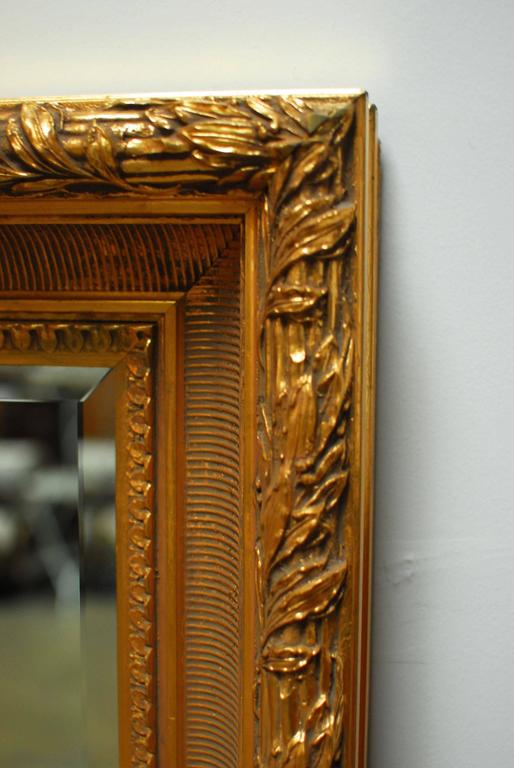 American LaBarge Gilt Mirror For Sale