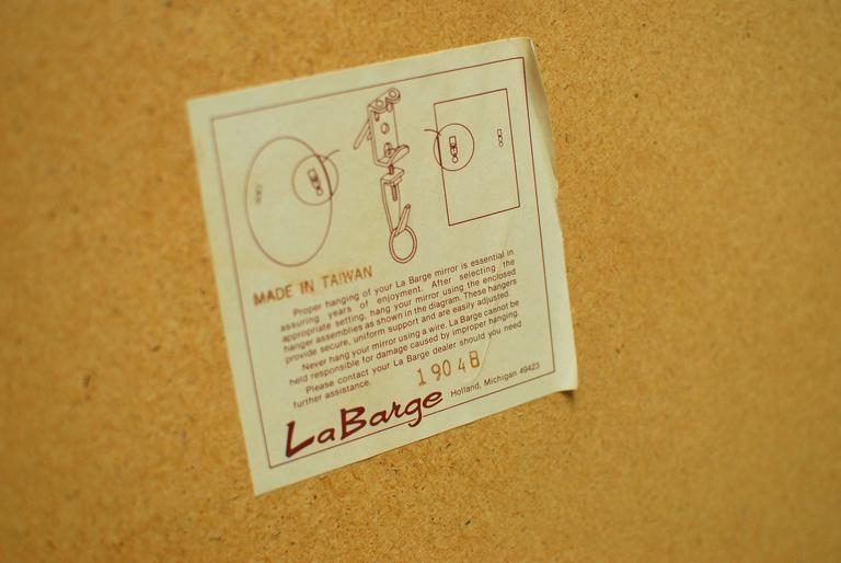 20th Century LaBarge Gilt Mirror For Sale