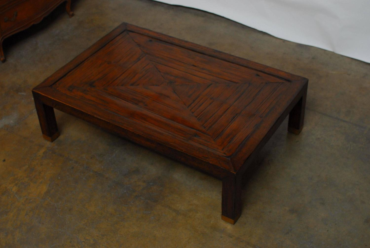 Asian Inspired Cocktail Table By Henredon At 1stdibs