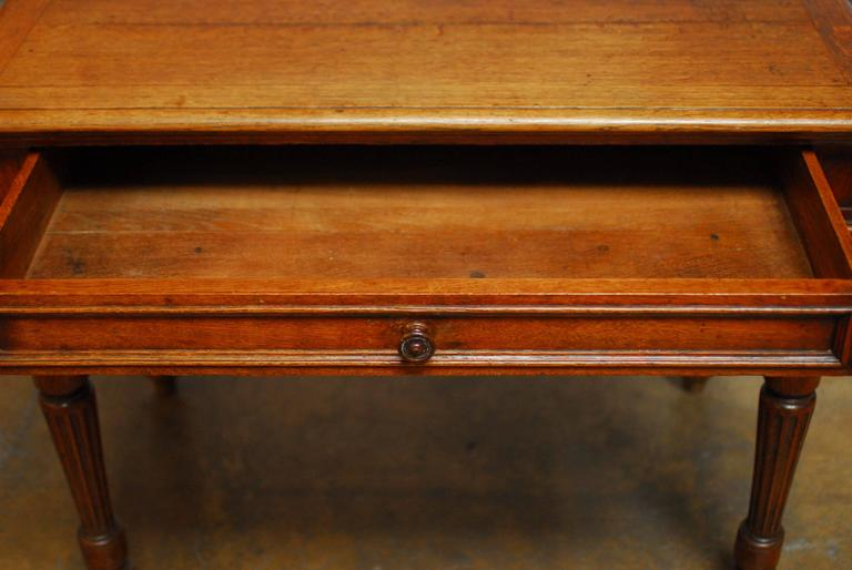 19th Century English Desk with Folding Privacy Walls For Sale 3