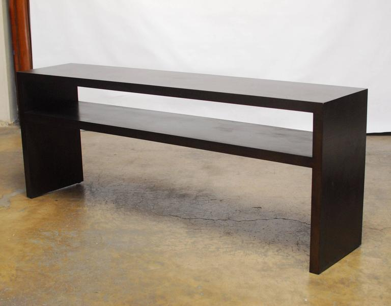 Style Textured Console Table At 1stdibs