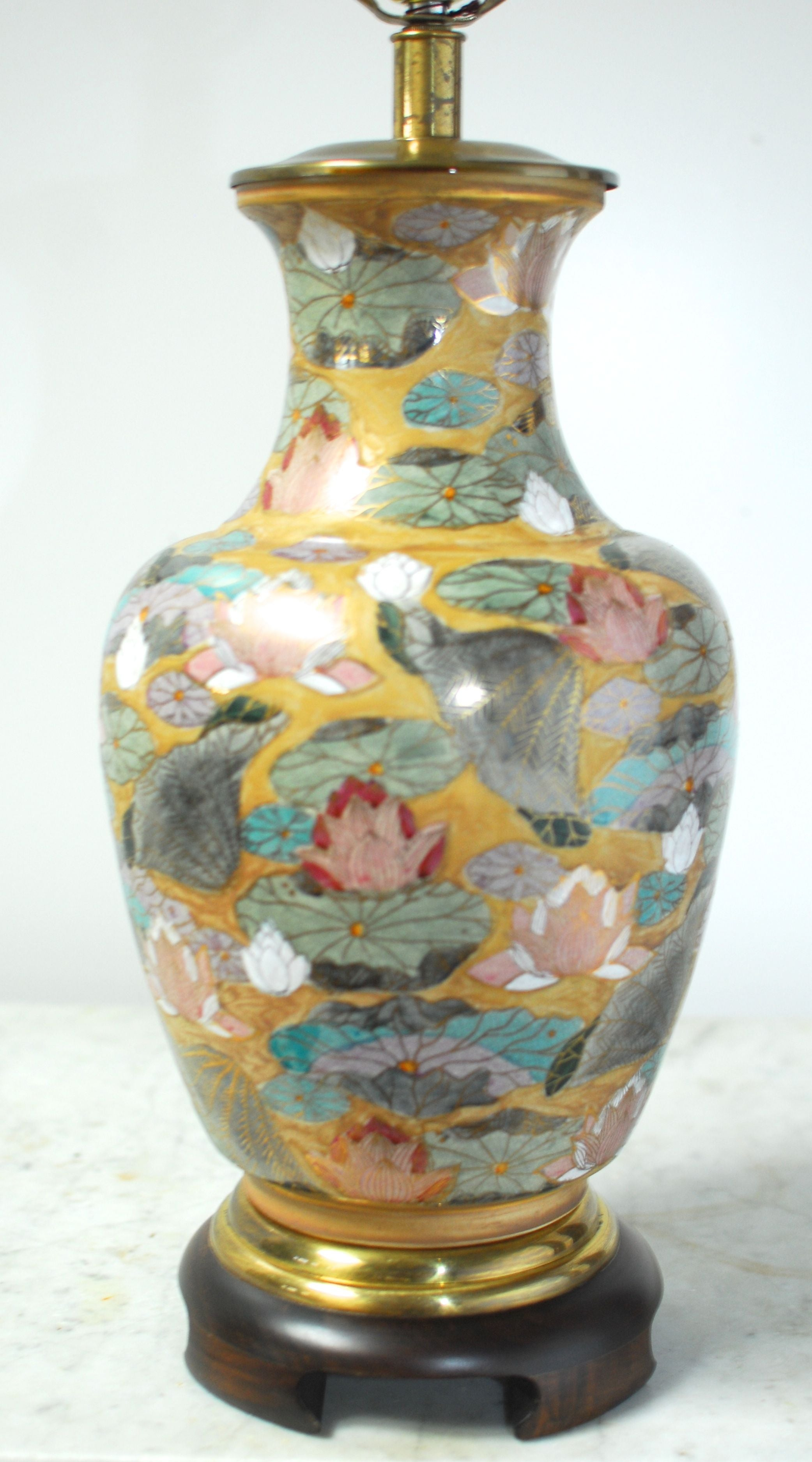 frederick jar urn bucks table ginger pottery product cooper lamps lamp floral