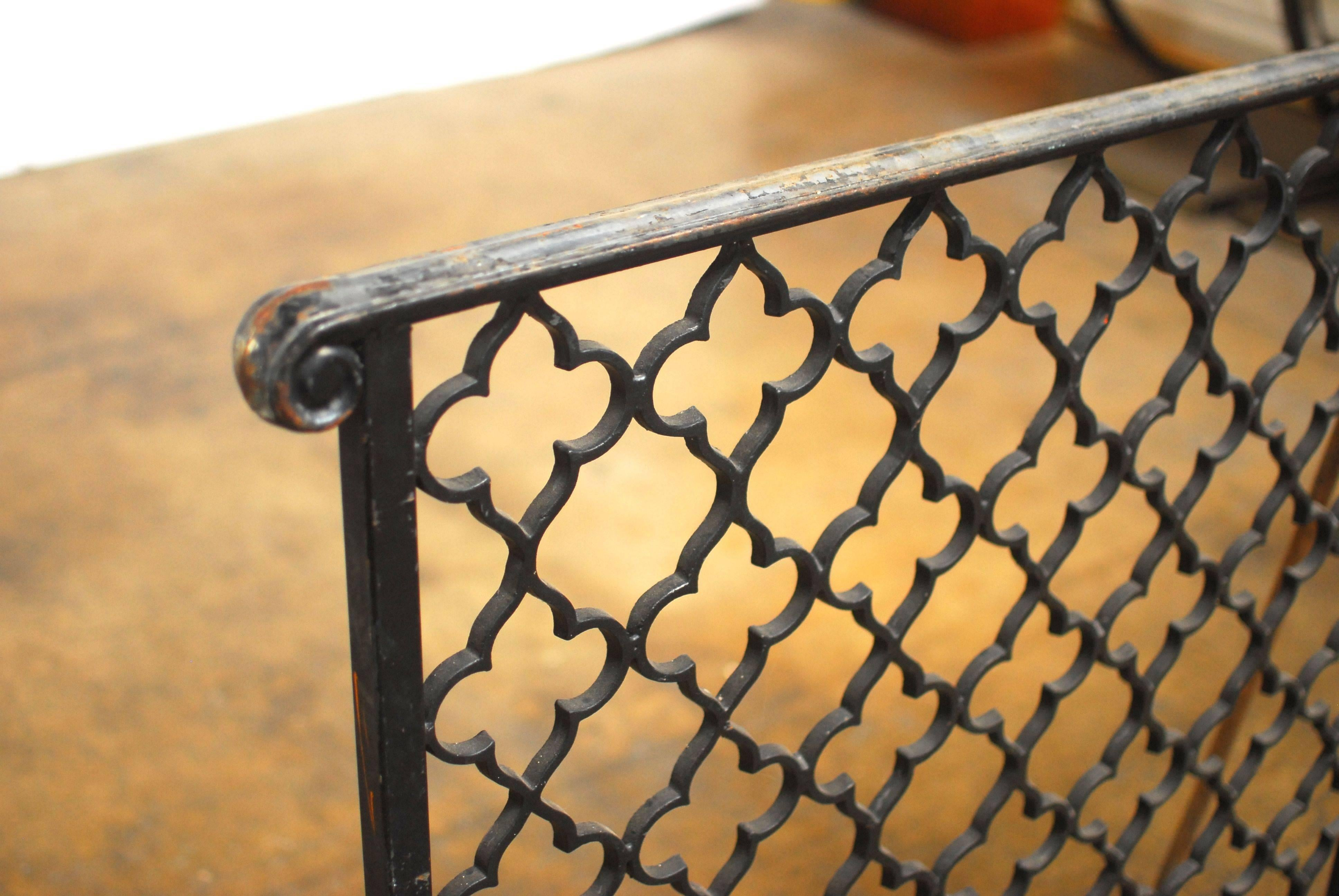 French Gothic Quatrefoil Altar Railing at 1stdibs