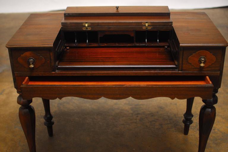 American Mahogany Spinet Desk 2