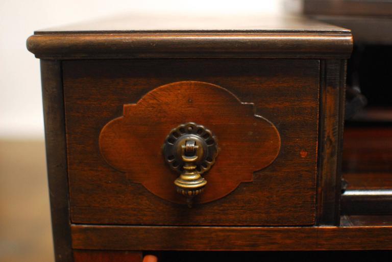 20th Century American Mahogany Spinet Desk