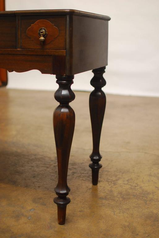 Empire American Mahogany Spinet Desk