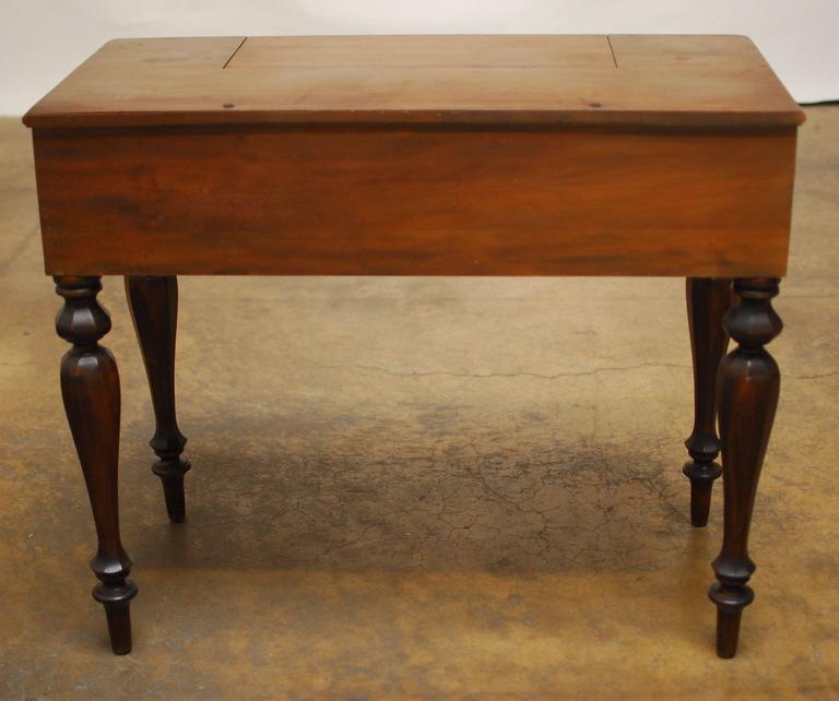 American Mahogany Spinet Desk 3