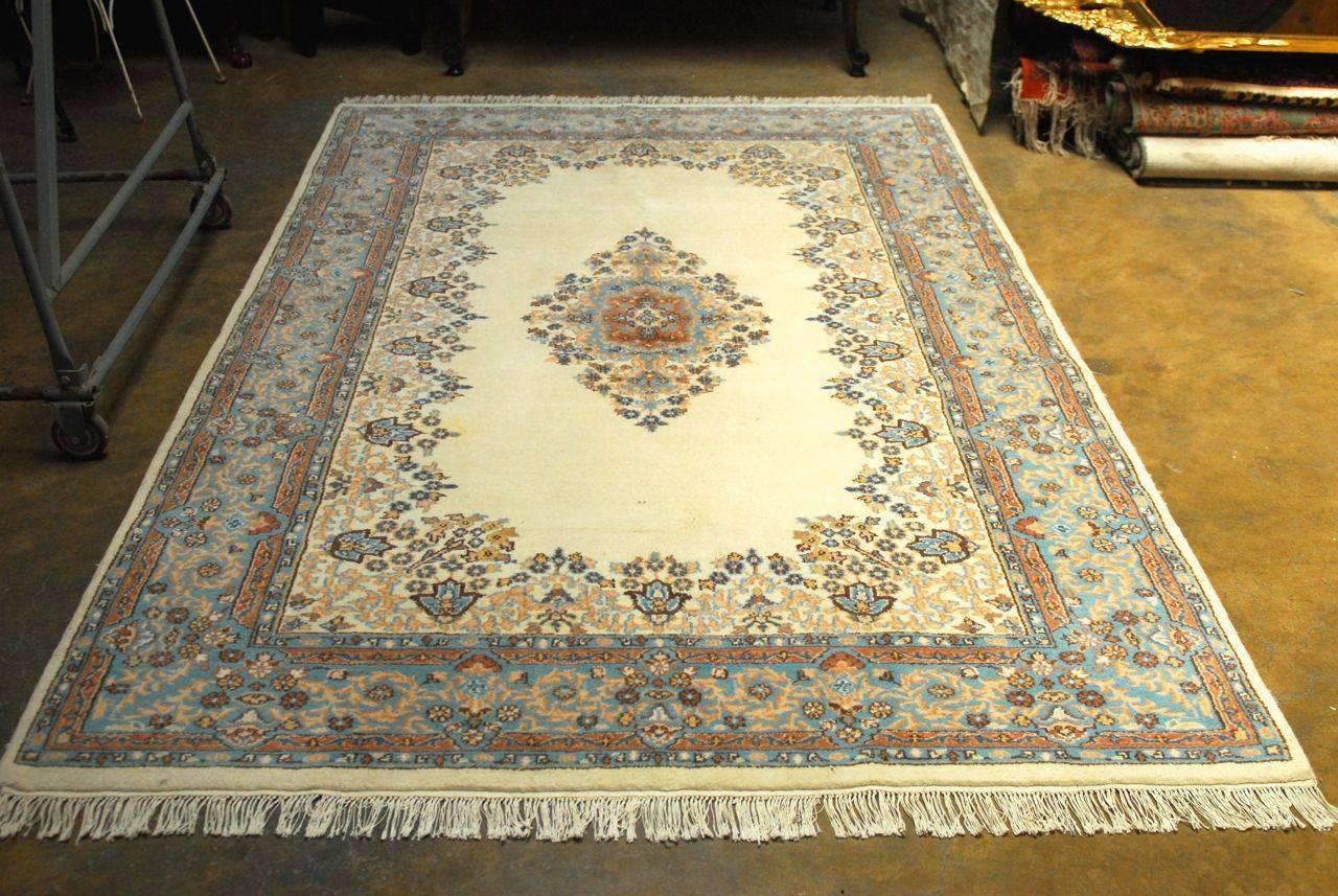 Vintage Indo Kerman Rug For Sale At 1stdibs