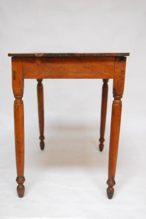 19th Century French Oak Farm Table Or Work Table At 1stdibs