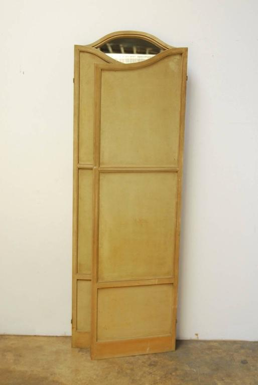 Louis XVI Style Three-Panel Triptych Folding Screen or Room Divider 7