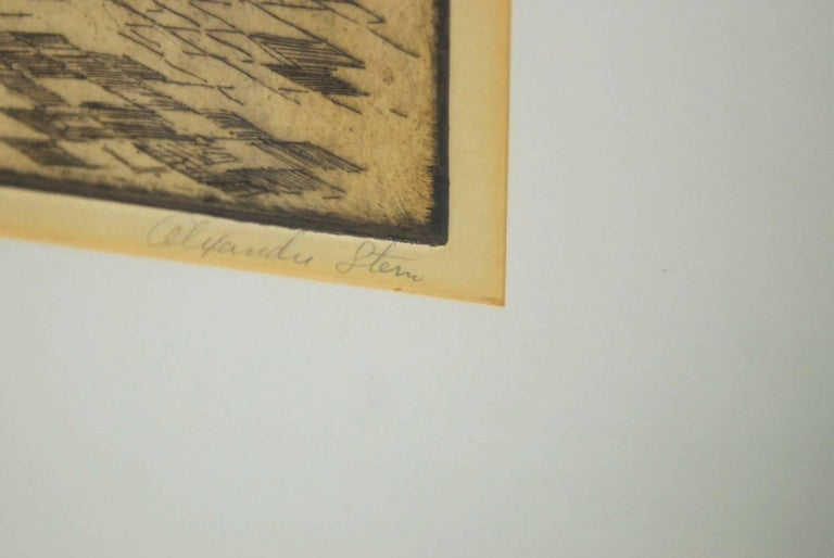 20th Century Alexander Stern Etching Peking, China, 1932 For Sale