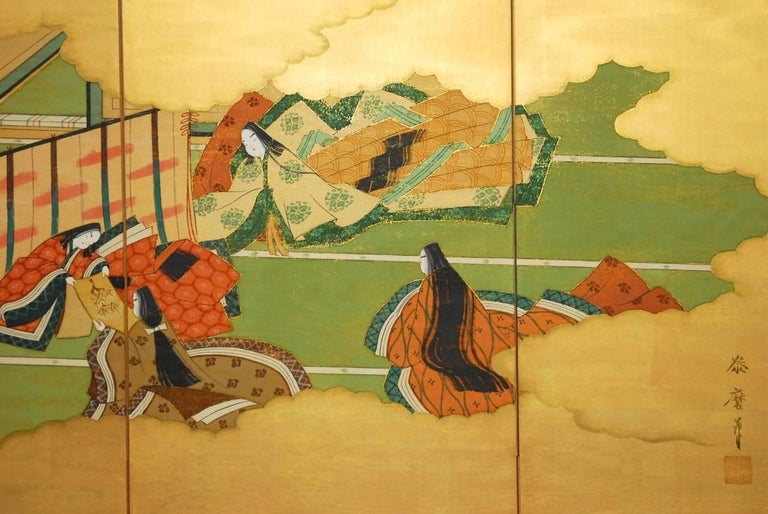 20th Century Japanese Four-Panel