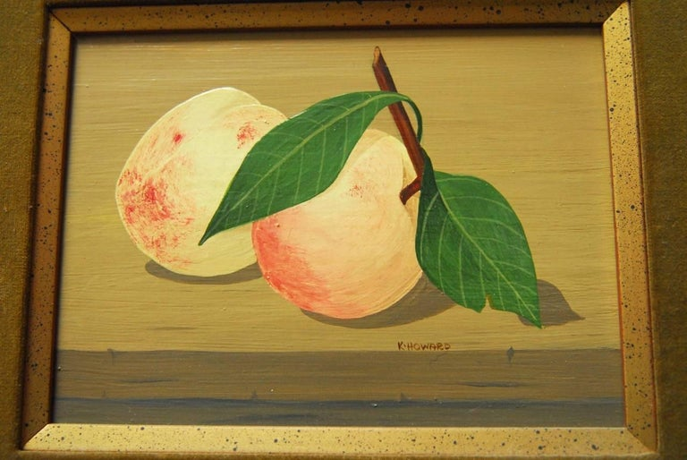 Framed Mid-Century Modern still painting of