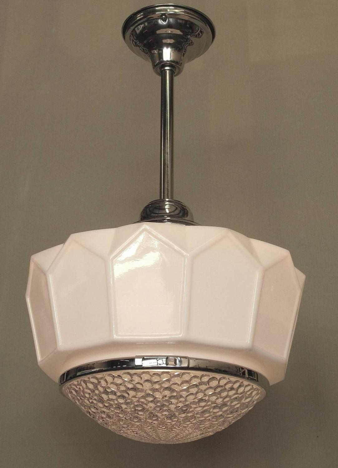 1920s bathroom light fixtures single only large 1920s ceiling fixture at 1stdibs 15263