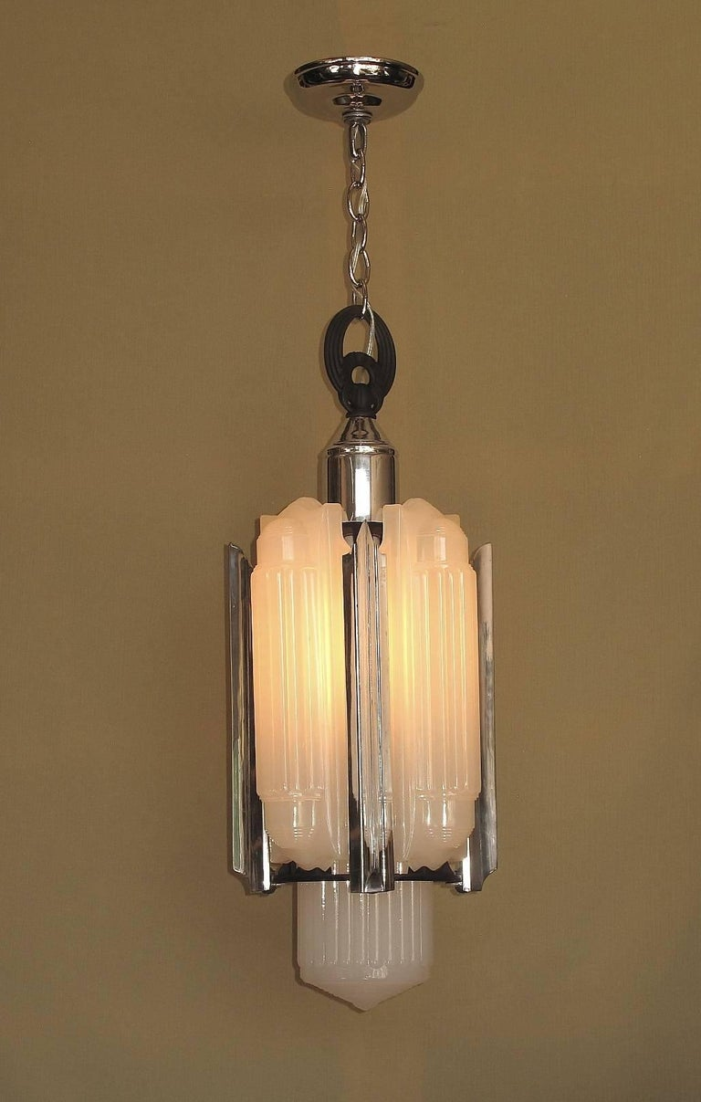 1930s Lightolier Luxart Chandelier For Sale At 1stdibs