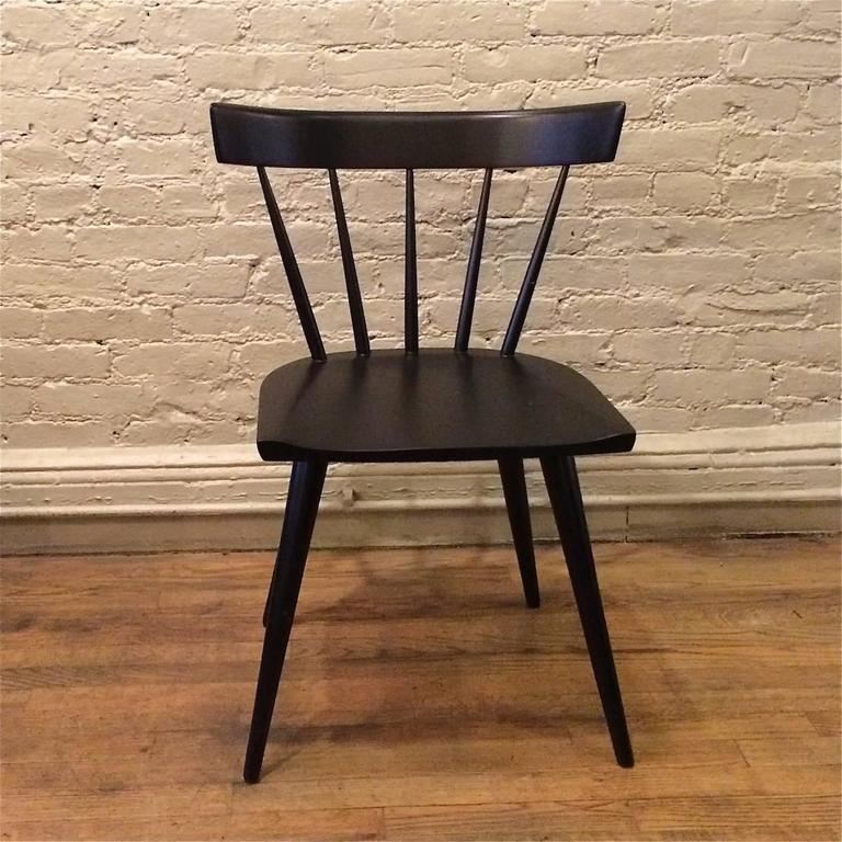 Mid Century Modern, Windsor Style, Spindle Back, Maple Chair By Paul McCobb