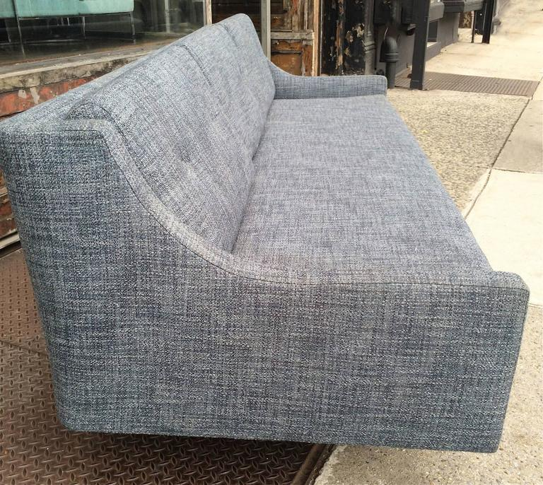Mid-20th Century Danish Modern Upholstered Sofa by Selig For Sale