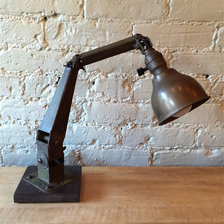 Industrial Articulating Desk Top Task Lamp 2