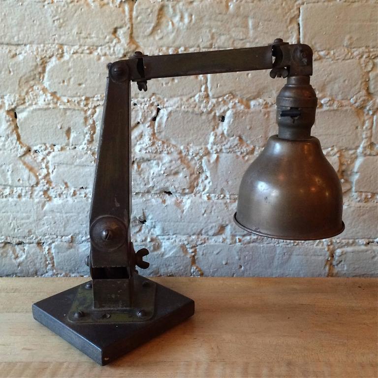 Industrial Articulating Desk Top Task Lamp 3