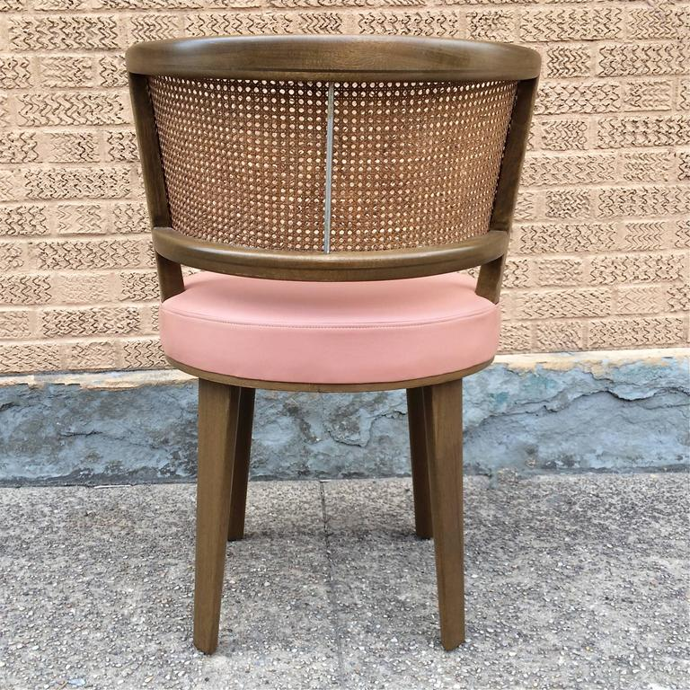 American Swivel Vanity Chair by Edward Wormley for Dunbar For Sale