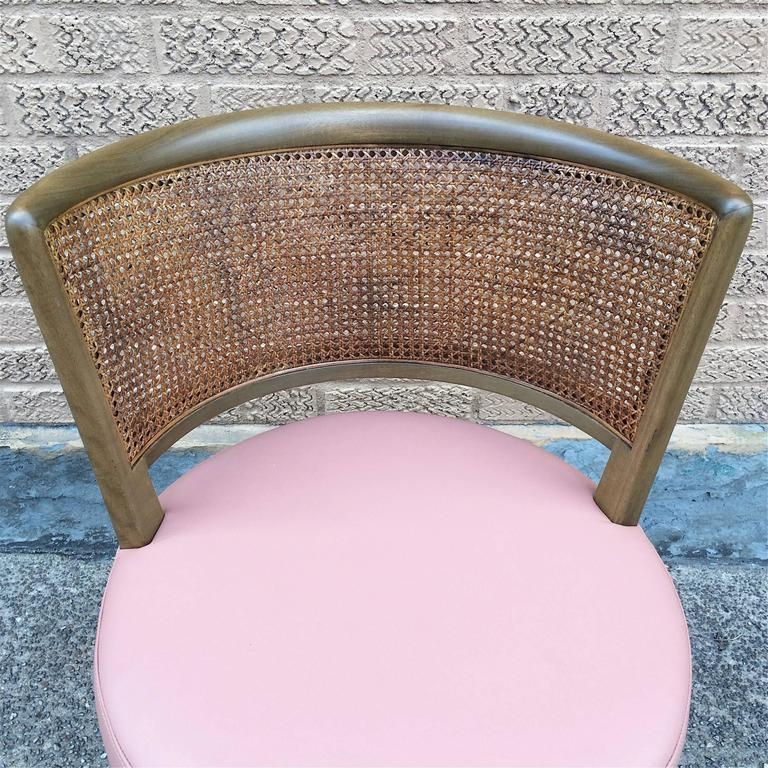 Mid-20th Century Swivel Vanity Chair by Edward Wormley for Dunbar For Sale