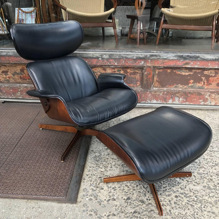 Bentwood And Leather Quot Mr Chair Quot By George Mulhauser For
