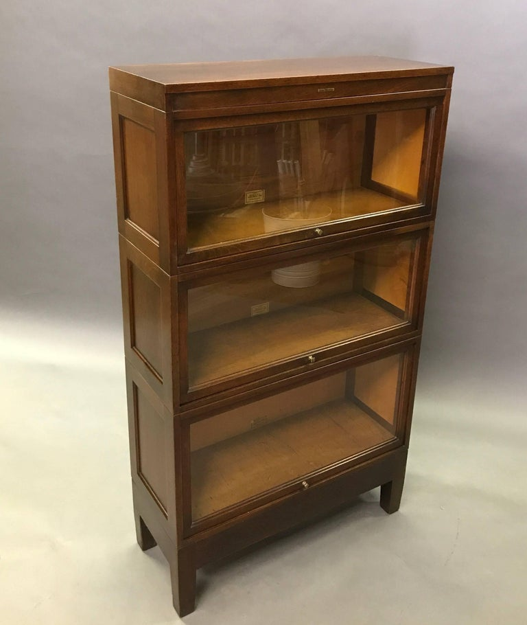 large mahogany barristers bookcase filing - 28 images - mahogany barrister bookcase cabinet by ...