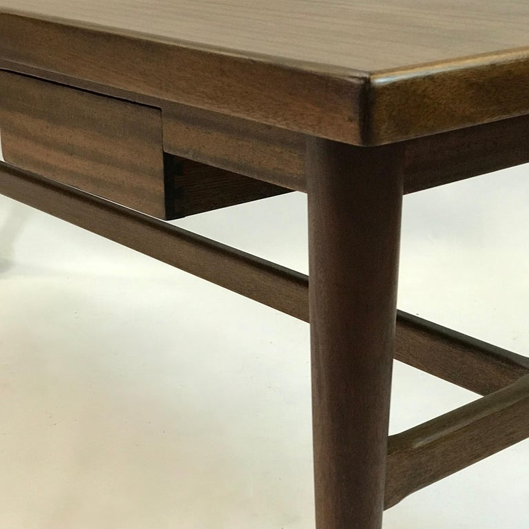 Custom Architect Mahogany Work Table Desk For Sale 2