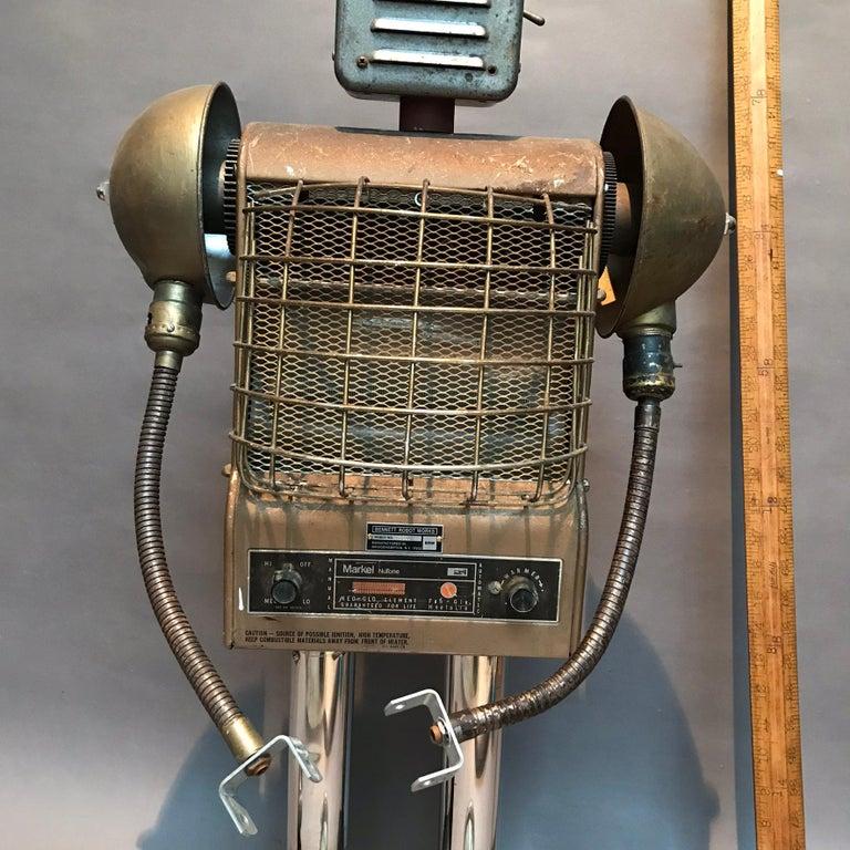 Metal Markel Robot Sculpture by Bennett Robot Works For Sale