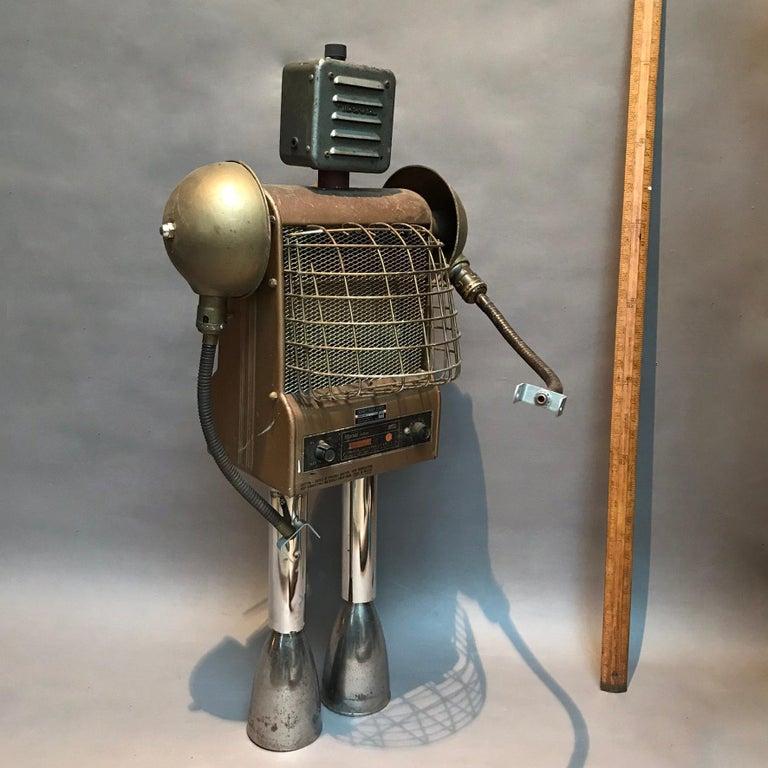Hand-Crafted Markel Robot Sculpture by Bennett Robot Works For Sale