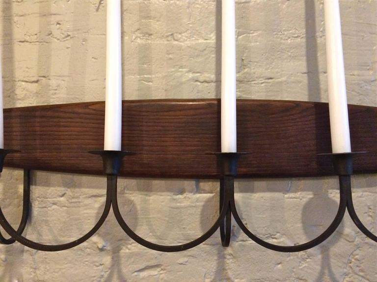 American Raymor Midcentury Candelabra Wall Sconce For Sale