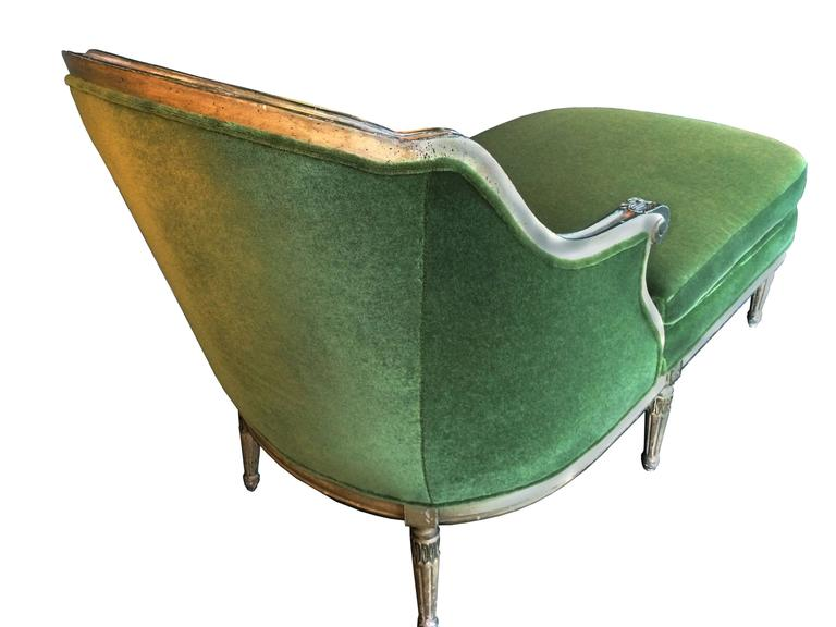 Early 20th century louis xvi chaise longue for sale at 1stdibs for Chaise louis xvi