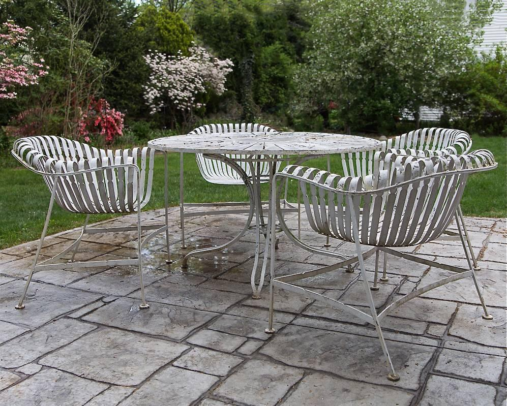 Woodard Sculptura Outdoor Furniture Vintage