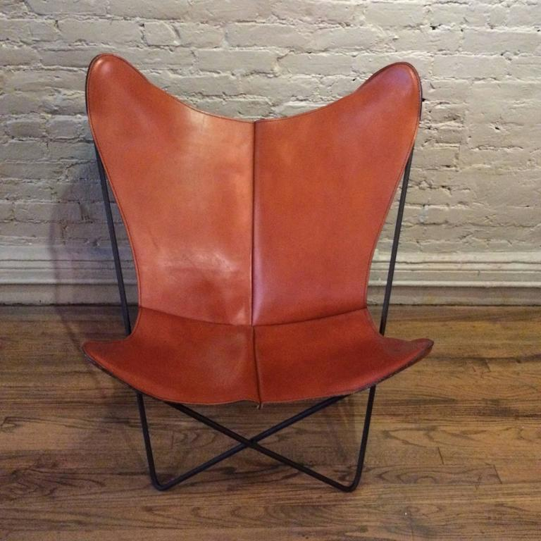 Genial Mid Century Modern, Butterfly Chair Designed By Jorge Ferrari Hardoy For  Knoll With