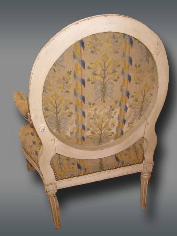 Pair of French Armchairs, Louis XVI 2