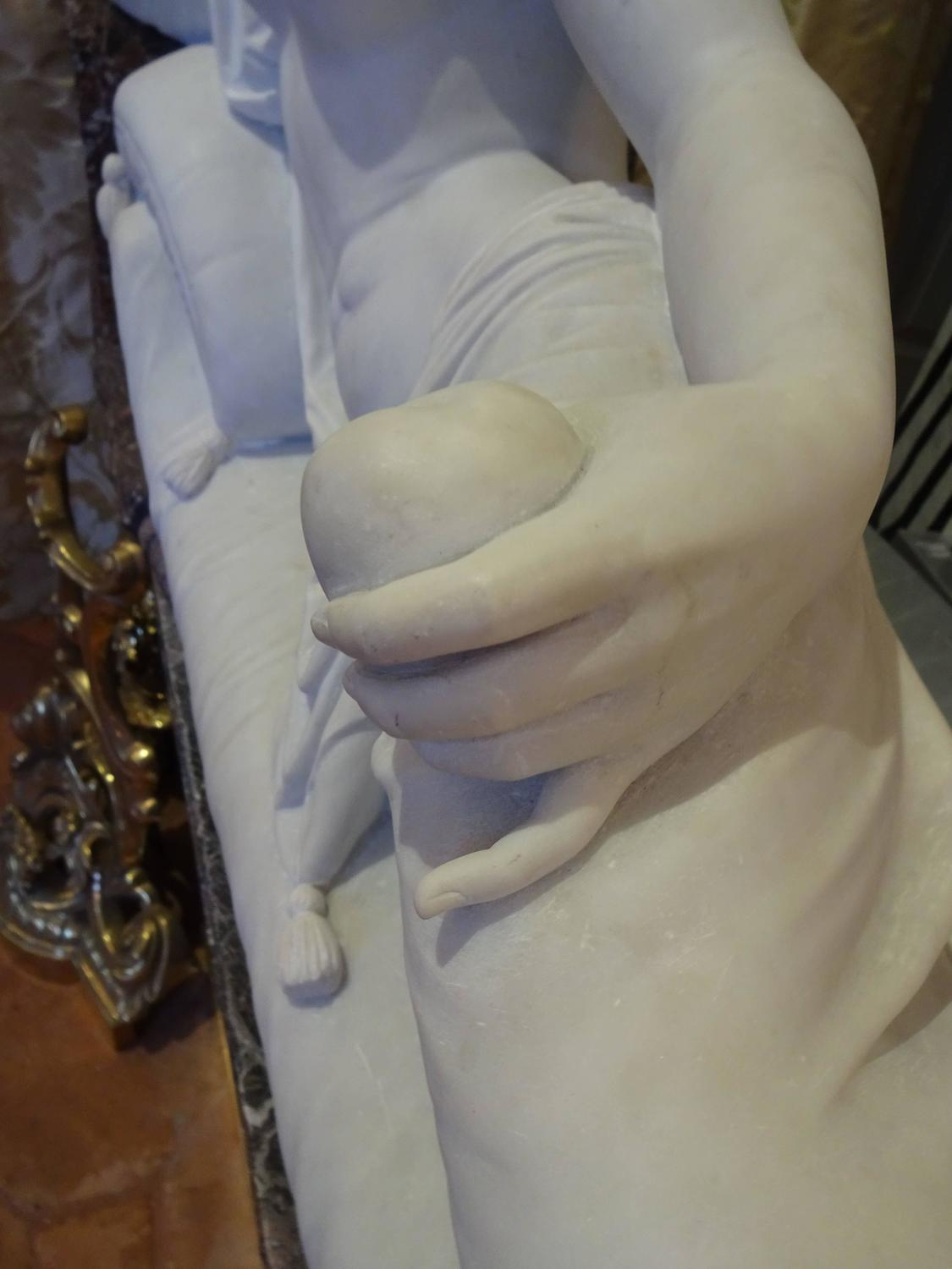 Pauline Borghese Marble Sculpture For Sale At 1stdibs