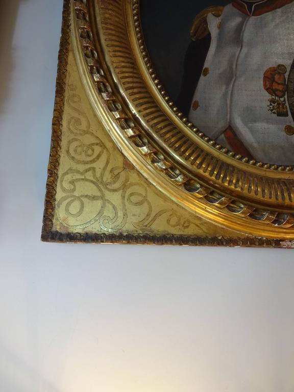 French Napoleon Portrait, Painting For Sale