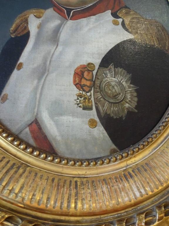 19th Century Napoleon Portrait, Painting For Sale