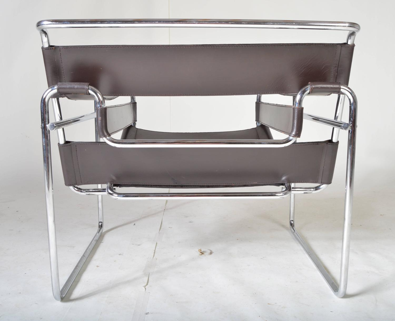Vintage 1960s Wassily Chair By Marcel Breuer For Gavina
