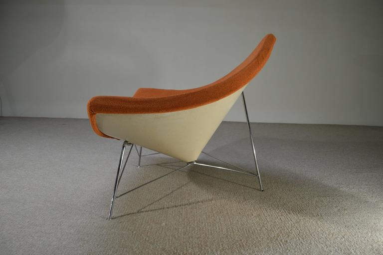 An Early Example Of George Nelson S Iconic Coconut Lounge Chair Produced By Herman Miller Beautiful