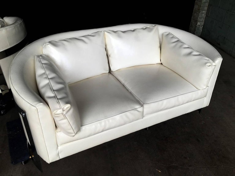 American Milo Baughman Cantilever Sofas or Loveseats For Sale