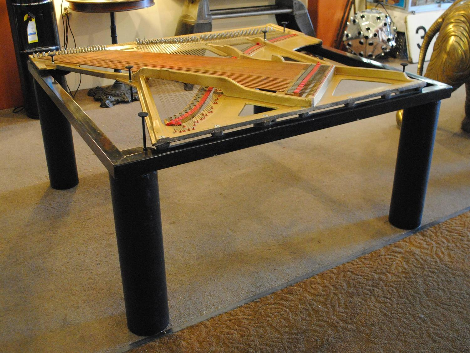 Piano Harp Dining Table For Sale At 1stdibs