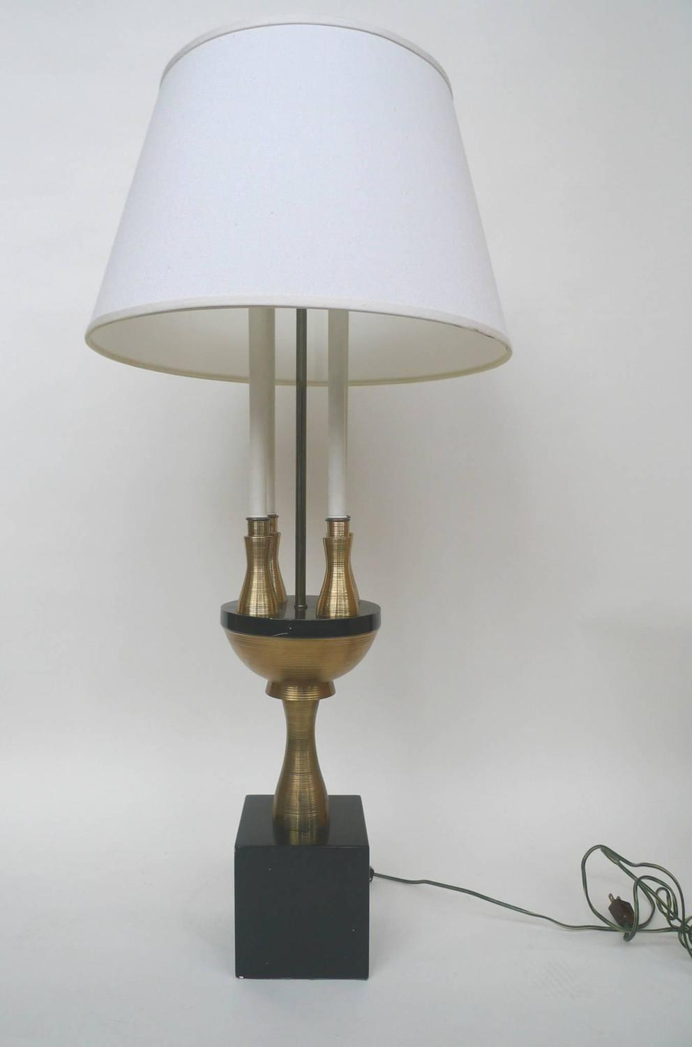 tall table lamp attributed to tommi parzinger at 1stdibs. Black Bedroom Furniture Sets. Home Design Ideas