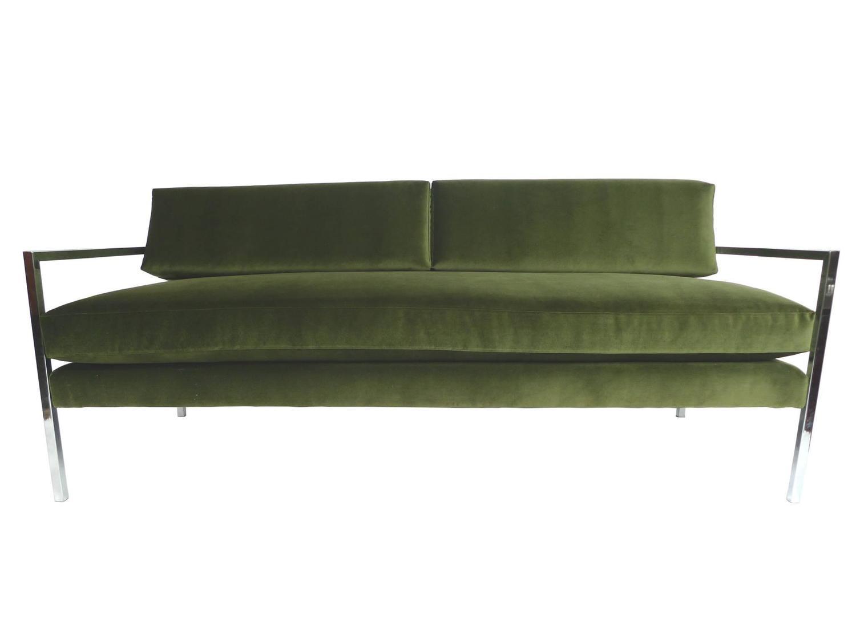 Green Velvet Sofa For Sale Smileydotus